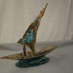 handcrafted bronze artwork